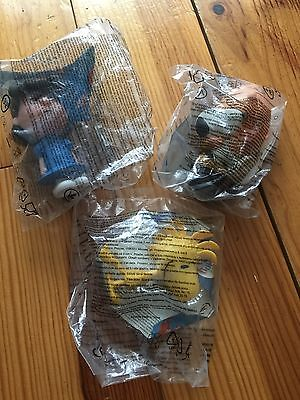 3 X McDONALDS HAPPY MEAL TOYS. CHARLIE BROWN SNOOPY ...