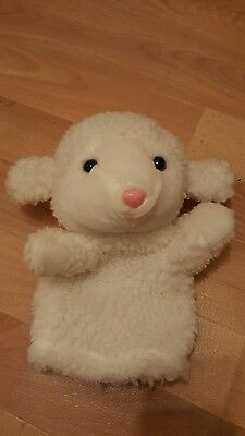 Hand Puppet Lamb Sheep Soft Toy