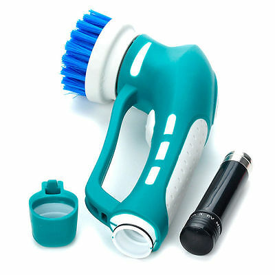 Power Scrubber Multi-purpose Cleaning Kit Kitchen Bathroom Cordless Rotary Brush