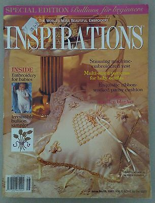 Inspirations magazine   Issue No. 16, 1997   Intact patterns