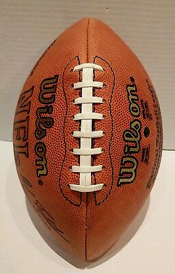 2000 NFL Wilson Football game used from Scholarship Fund to The Wisne Family