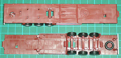 Two 45ft Trailer Chassis, by Herpa, in HO – new