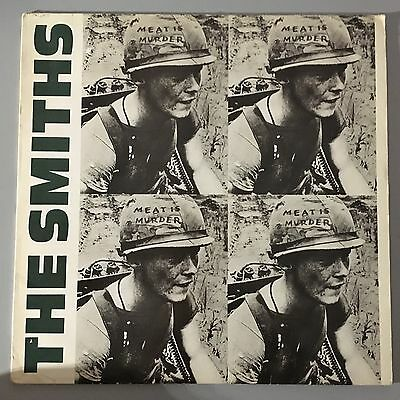 The Smiths. Meat Is Murder LP