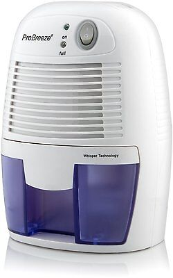A Pro Breeze 500ml Compact And Portable Mini Air Dehumidifier For Damp, Mould,
