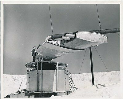 Jet Powered Helicopter Test, GE, Schenectady NY, 1948