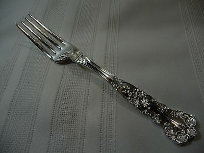 "Sterling Silver GORHAM BUTTERCUP Dinner Fork  7 1/2"" no mono's"
