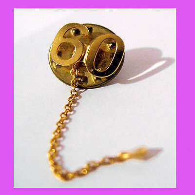 Official #60 YEARS PIN Numeral Guard Girl Scout Adult Uniform Chain Multi=1 Ship