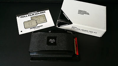 Horseman Roll Film Holder Type 612 6EXP 120 45-6x12 With Box