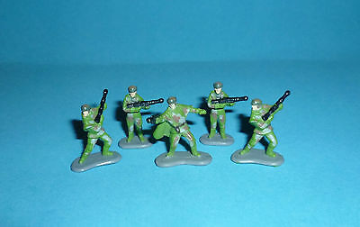 STAR WARS Micro Machines - 5 ENDOR REBEL STRIKE TEAM SOLDIERS - figures lot