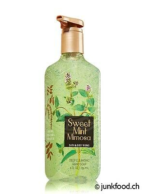 Bath & Body Works Cleansing-Seife - Sweet Mint Mimosa (236ml)