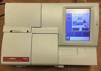 Idexx VetStat Analyzer of electrolytes and gases of blood