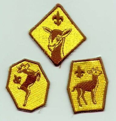 BOY SCOUTS OF PHILIPPINE (BSP) - KAB SCOUT (CUB) Rank Award Badge SET