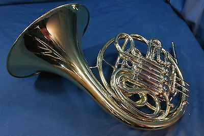 Conn 6D Double French Horn with Case and Mouthpiece