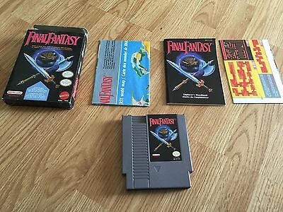 Final Fantasy Nintendo Nes Cib With Maps Box Manual What Started It All