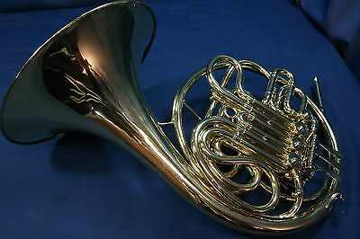 1958 Elkhart Conn 6D Double French Horn with Case and Mouthpiece