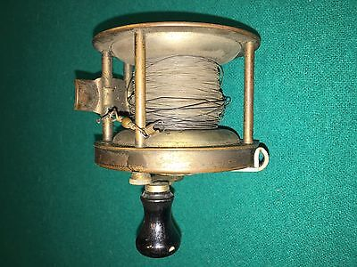Vintage Four Brothers Trade SUMCO No. 2258 Brass Ocean Reel