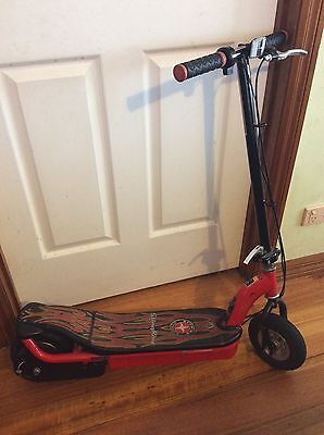 Black And Red Sting Ray Electric Scooter!!