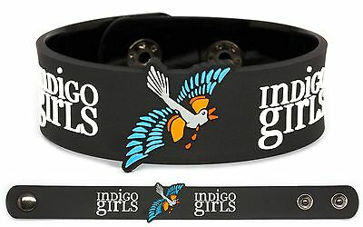 INDIGO GIRLS Rubber Bracelet Wristband One Lost Day Beauty Queen Sister