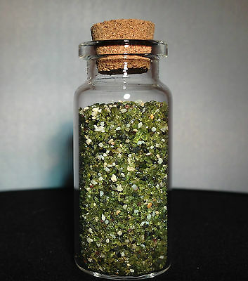 Hawaii - Green - Beach Sand - Papakolea - Sand Sample - Natural
