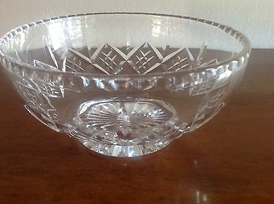 Stuart Crystal Large Bowl