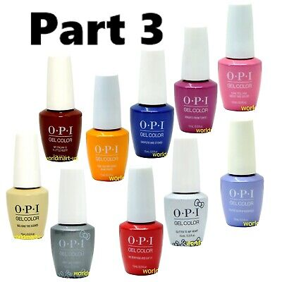 OPI GelColor Soak Off UV/LED Base Top Nail Polish /Choose Any Color * #3
