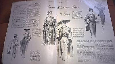 The Lady Womens Magazine 13th May 1954 vintage edition