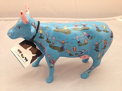BNIB New Boxed COW PARADE Children of the World Unite #16165 Collectible World