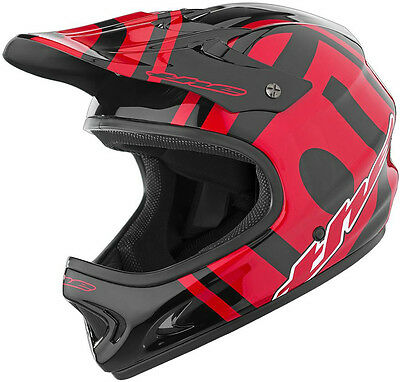 THE Industries Adult Point5 BMX and Mountain Bike Helmet, Slant Black/Red, New