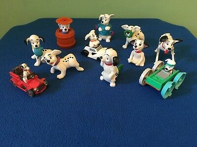 Disney and Other 101 dalmations puppies dog figures