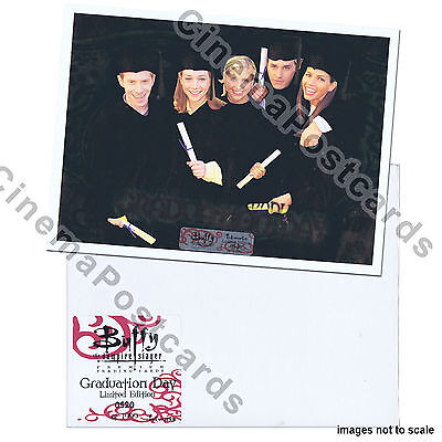 Buffy the Vampire Slayer UNCUT Foil Trading Card Sheet 3 Graduation Day G1 to G9