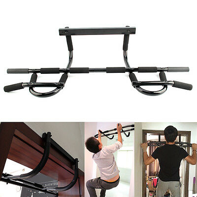 Door Gym Bar Pull/ Push/ Chin/ Sit Up Dips Fitness Strength Workout Exercise