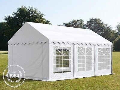 3x6m PVC Heavy Duty Marquee, Wedding Party Tent, white, Bolt Steel Construction
