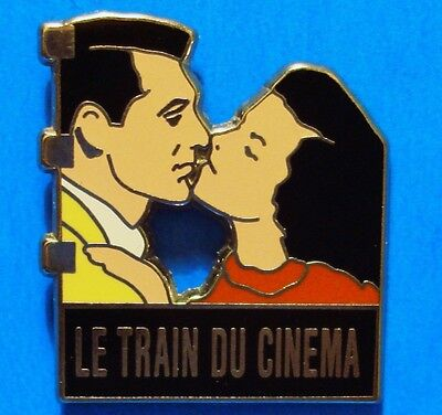 Cary Grant - Movie Image -The Movie Train (French) - Vintage Lapel Pin - Pinback