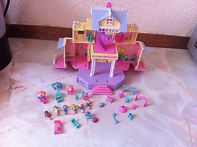 Vintage Polly Pocket 1995 Clubhouse pop out & near complete, Excellent condition