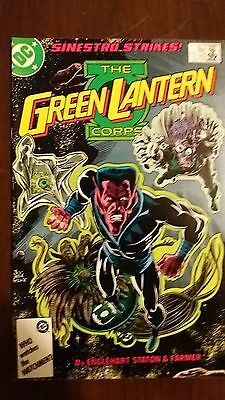 Dc Green Lantern Corps #217 And #218 2 Issue Lot Nm 1987