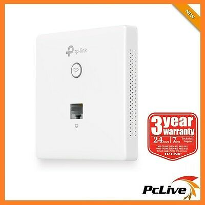 TP-Link EAP115-Wall 300Mbps Wireless N Wall-Plate Access Point WIFI