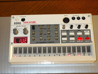 Korg Volca Sample Sequencer Boxed Mint Condition