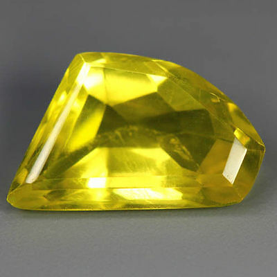 9.90 Cts Unique Flawless Awesome Attractive 100% Natural Lemon Yellow Prasiolite