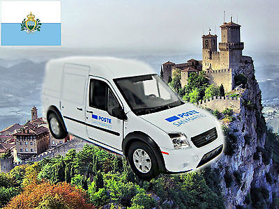 SAN MARINO POSTE post mail Ford Transit approximate scale 1/43 - World Post cars