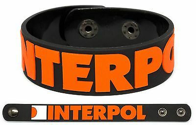 INTERPOL Rubber Bracelet Wristband El Pintor Our Love to Admire Antics