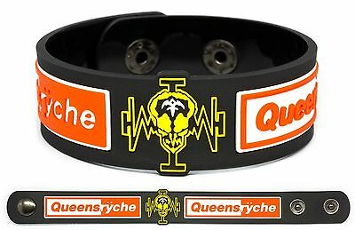 QUEENSRYCHE Rubber Bracelet Wristband Operation: Mindcrime Empire