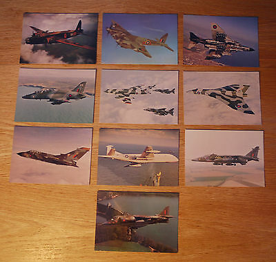 "27 x POSTCARDS - MILITARY AIRCRAFT PRODUCED BY 'AFTER THE BATTLE' - ALL 6"" x 4"""