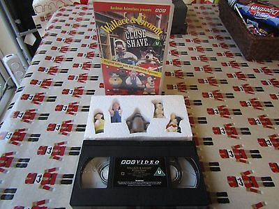 Wallace and gromit rare vhs gift set