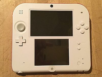 Nintendo 2Ds Console White Barely Used Perfect Condition