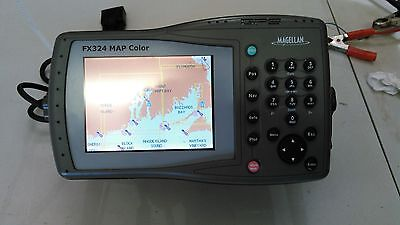 Magellan FX324 MAP Color 5.3 Inch  Marine GPS and Chartplotter DISPLAY