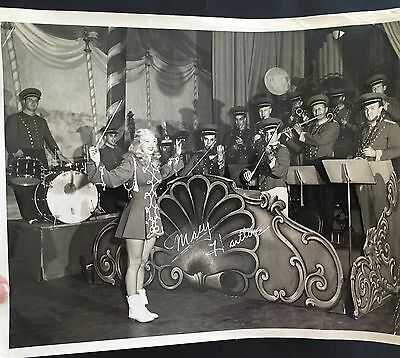 Strike Up The Band! Mary Hartline Conducts The Super Circus Band, Autographed