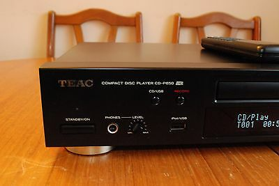 Teac CD-P650 Compact Disck Player with USB Recording