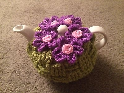 Tea cosy flowers for small teapot cozy cover ( 1 or 2 cups) cosie case cozie