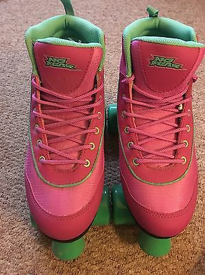 Ladies No fear Retro Quad Skates Size 8