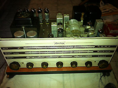 Armstrong Stereo 12 MKII Vintage Tube Receiver 7W PP ECL82